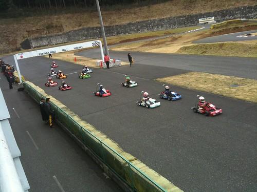 レーススタート
