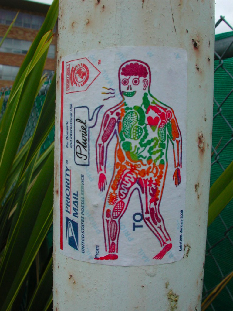 KOLEO, Sticker, Graffiti, Street Art