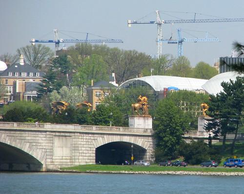 Old Naval Observatory, Memorial Bridge, New Institute of Peace Building