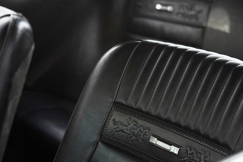 Mustang - intérieur