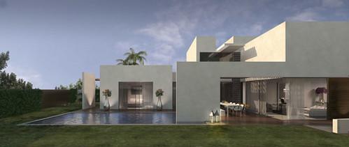בית דו-משפחתי עבור משפחה מורחבת (דותן וקובו), בשטח מגרש של 1,450 מר בהוד השרון