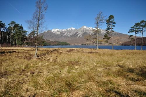 Beinn Eighe across Loch Clair