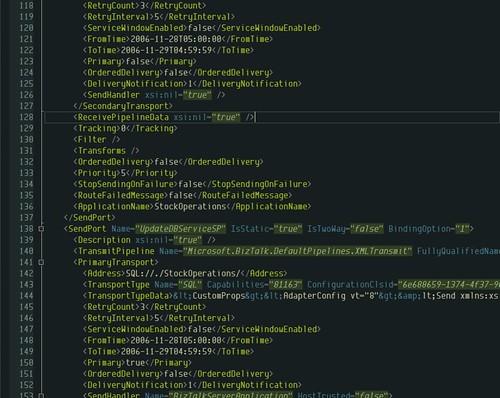 Metroline - XML