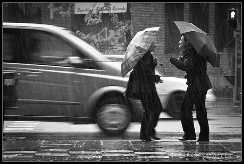 Trobada sota la pluja