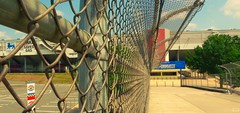 Charlotte Motor Speedway (buttahcuppp) Tags: bridge fence charlotte racing nascar speedway
