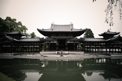 平等院鳳凰堂(Byodo-in Chinese phoenix temple)