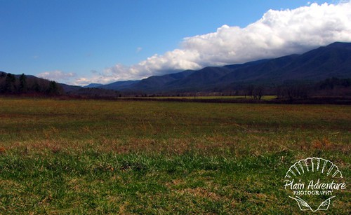 view from Cades cove watermark