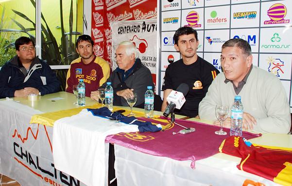 Presentación de Pelotín González