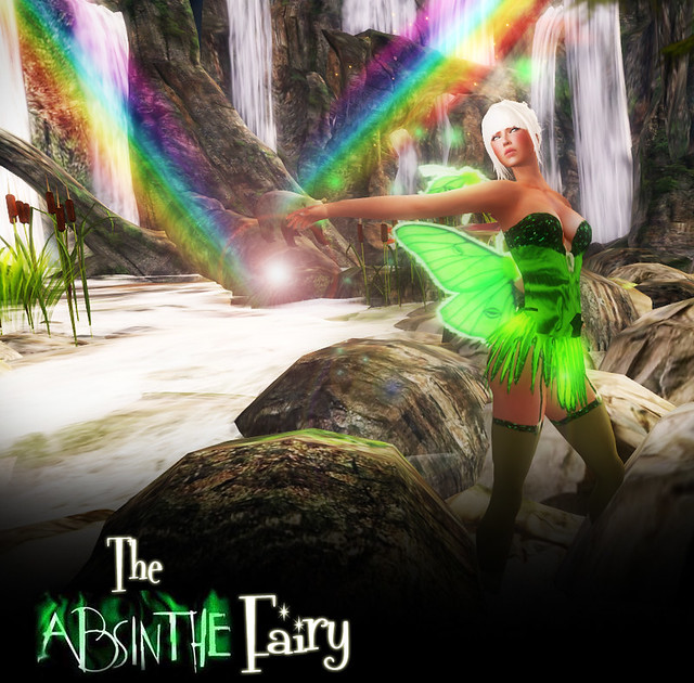 The Absinthe Fairy 2011 Fierce Designs
