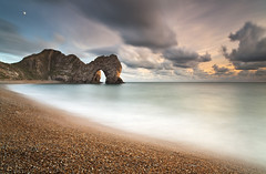 Durdle Door (peterspencer49) Tags: greatbritain sea england seascape arch dusk unesco worldheritagesite dorset limestone archway seaview seaarch southwestcoast durdledoor jurassiccoast rockarch dorsetcoast southwestcoastalpath seascene limestonearch 5dmkll peterspencer