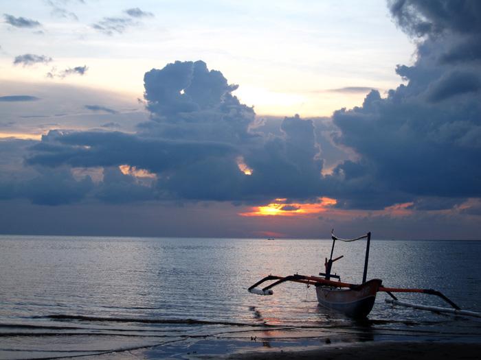 Lovina Sunset, Bali, Indonesia