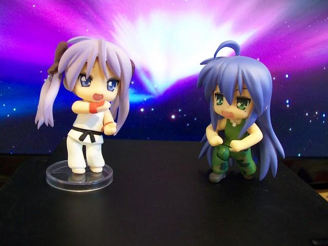 Kagami and Konata