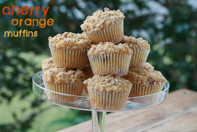 Cherry Orange Muffins