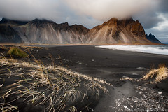 From The Archives (Kristinn R.) Tags: sea sky mountains beach clouds blacksand iceland nikon vestrahorn d3x nikonphotography stokknes kristinnr