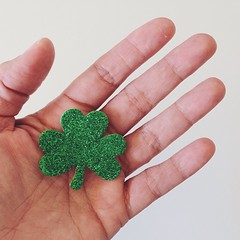 Happy St Patrick's Day (life stories photography) Tags: green square march holding hand lucky squareformat clover stpatricksday iphone 2014 iphoneography instagramapp uploaded:by=instagram beverlylefevre