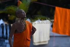 30100716 (wolfgangkaehler) Tags: 2017 asia asian southeastasia laos laotian luangprabang centrallaos town unescoworldheritagesite buddhist buddhism temple xiengmuanvajiramangalaram watxiengmuan buddhistmonk monk people person man