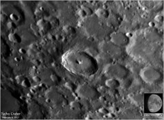 Tycho Crater – February 6, 2017 (Tom Wildoner) Tags: tomwildoner leisurelyscientistcom leisurelyscientist tycho crater moon lunar astronomy astrophotography astronomer space science celestron cgemdx meade lx90 telescope zwo asi290mc nightsky night february 2017 weatherly pennsylvania solarsystem