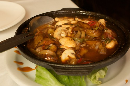 sichuan eggplant hotpot at idea fine foods