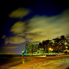 MIDNIGHT WAIKIKI BEACH MELANCHOLY (ANVAR - RUSSIANTEXAN ) Tags: longexposure beautiful hawaii nikon waikiki honolulu waikikibeach bluehawaii russiantexan explored mywinners anawesomeshot d700 perfectvacation 100commentgroup anvarkhodzhaev russiantexas midnightwaikikibeachmelancholy exploredoct26200999 svetan svetanphotography