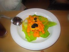 南瓜鮮蝦沙拉