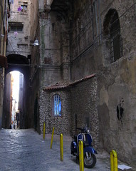 Naples Yet Again  3 (JJKDC) Tags: italy italia arch campania vespa unesco napoli naples italians spaccanapoli