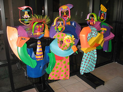 Sedona Medical Center (twm1340) Tags: arizona sculpture art statue metal hospital funny comic country scenic sedona az center medical redrock
