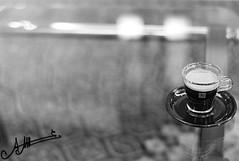 (A.A.A) Tags: leica white 3 black glass coffee by table photography aaa amna nespresso irresistible m82 abdulaziz althani