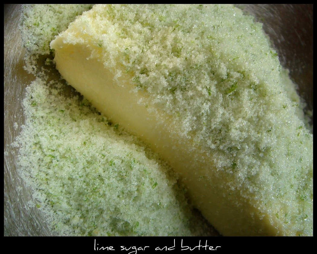 lime sugar and butter