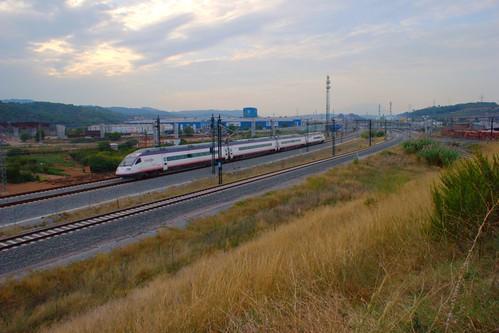 Tren AVANT en El Papiol. Foto: Luis Zamora en Flickr