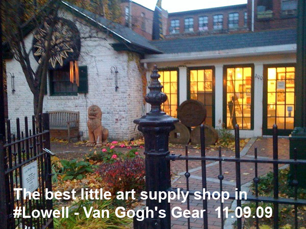 Van Gogh's Gear in Lowell