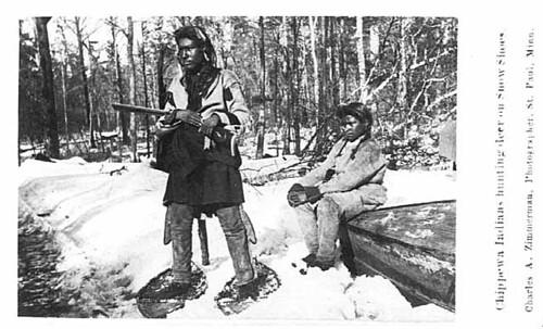 Ojibwe snowshoe
