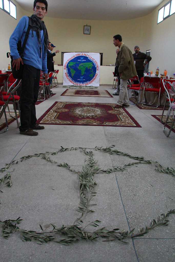 Rugs & Peace sign