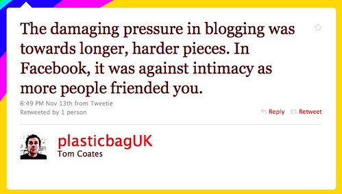 Twitter / Tom Coates: The damaging pressure in b ...
