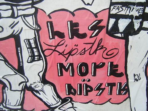 """les lipstick more dipstk"" Detail"