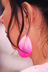 pink earing (diana-flickr-2) Tags: pink girl festival albania waterbury earing tirana shqiptare fotografe dianaflickr