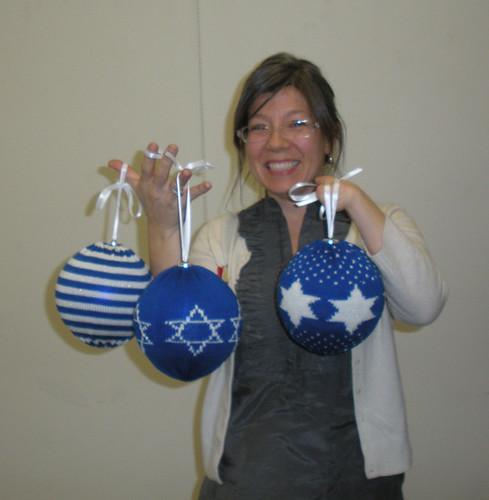 Rebecca's Hannukah Balls