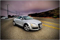 CA. CPA's TT on PCH (Extra Medium) Tags: california morning cars pch hdr auditt pacificcoasthighway 9exposures hdrcars hdrautos