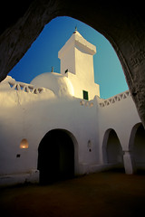 Ancient mosque in Ghadamis (Mansour Ali) Tags: africa light me architecture dress desert south muslim north culture mosque architectural arabic east arab middle libya masjid  mosques  lybia  libyan  ghadames libia libye  mansour    libyen  fezzan           ghadamis       africaghadames ghadamisian