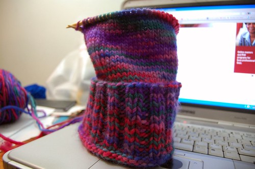 WIP: hat for my brother's girlfriend