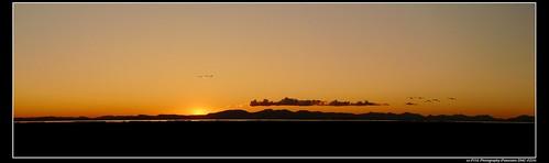 Sunset over Gulf Islands
