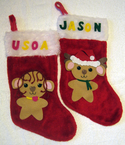 Christmas Stockings 2009