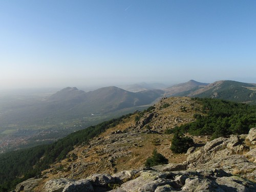 View from the Abantos summit
