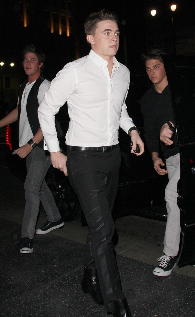 #4149797 Jesse McCartney makes his way to Katsuya for dinner in Hollywood, CA on December 5, 2009.. Fame Pictures, Inc - Santa Monica, CA, USA - +1 (310) 395-0500