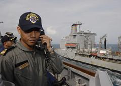 (#PACOM) Tags: underway unrep pacom ussmustin royalmalaysiannavy uspacificcommand