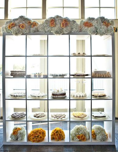 yellow-dessert-display
