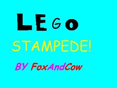 Stampede (The Egg) Tags: motion video dragon lego stop animation minifigs stampede stopmotion