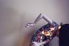 (Sofia Ajram) Tags: selfportrait girl lights magic longhair christmaslights mauve glowing witchcraft flowerpattern nikond80 sofiaajram miumachi
