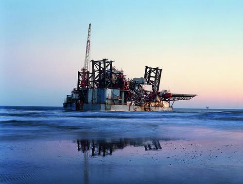 Ocean Warwick Oil Platform, Dauphine Island, Alabama 2005