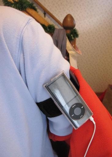 wear you ipod inside jacket