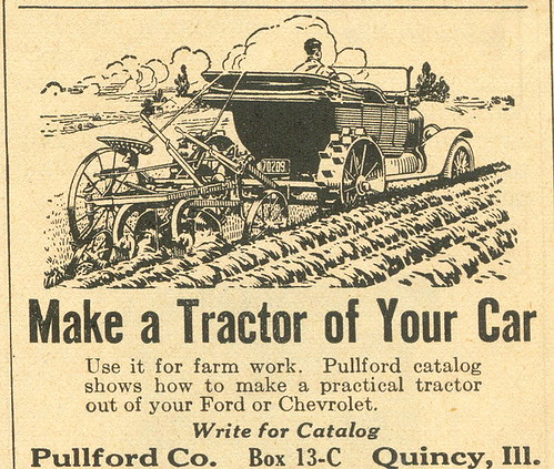 Pullford Tractor conversion kit.